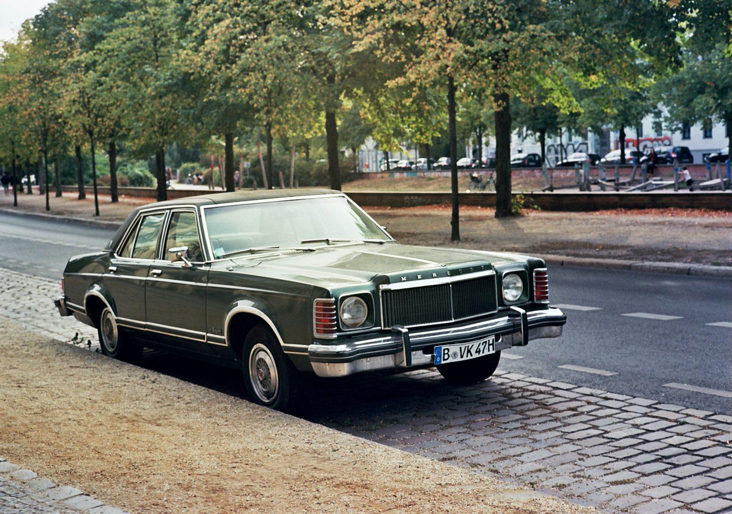 Mercury Monterey parked in Berlin