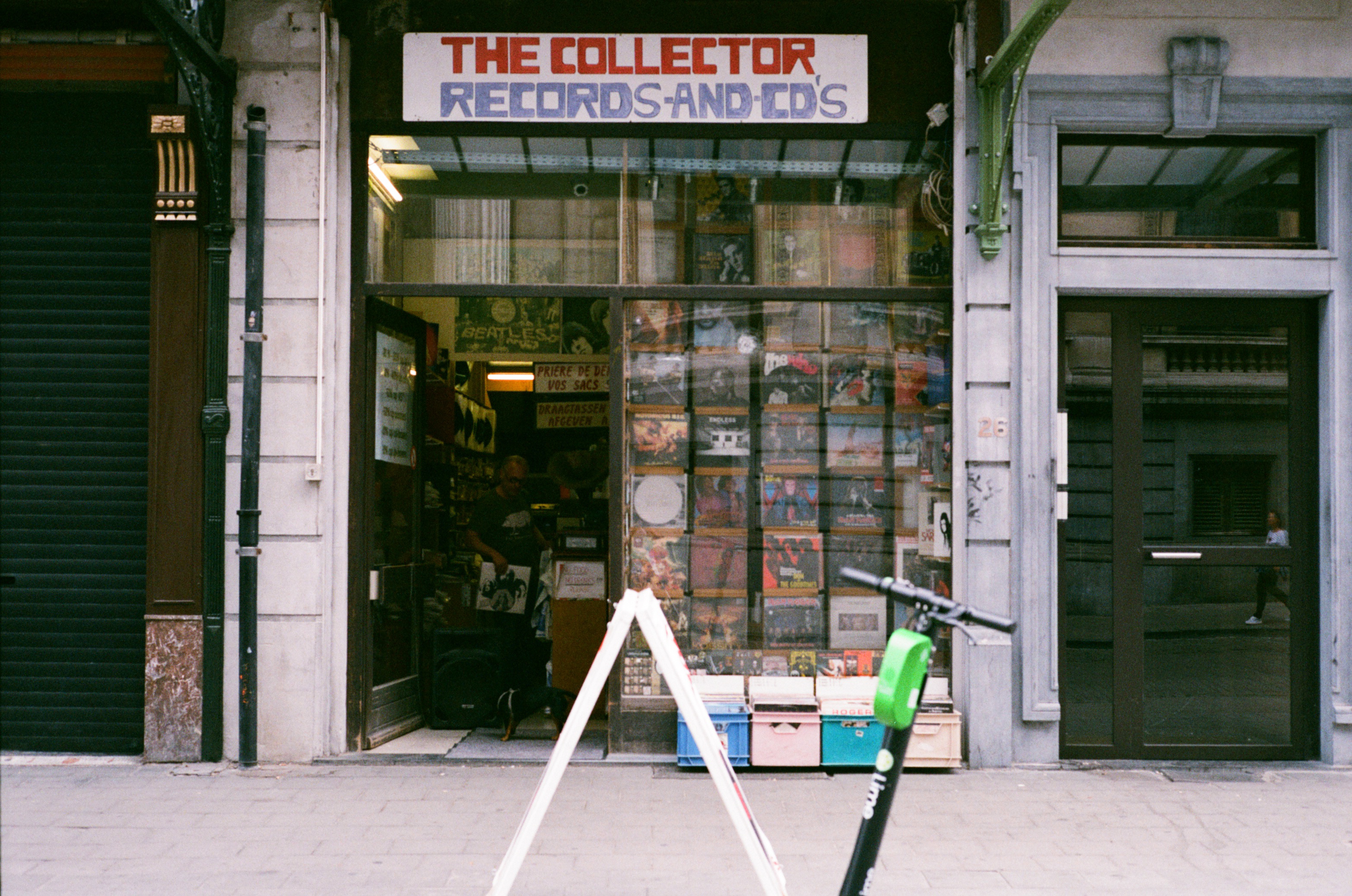 For records you visited the collector in Brussels