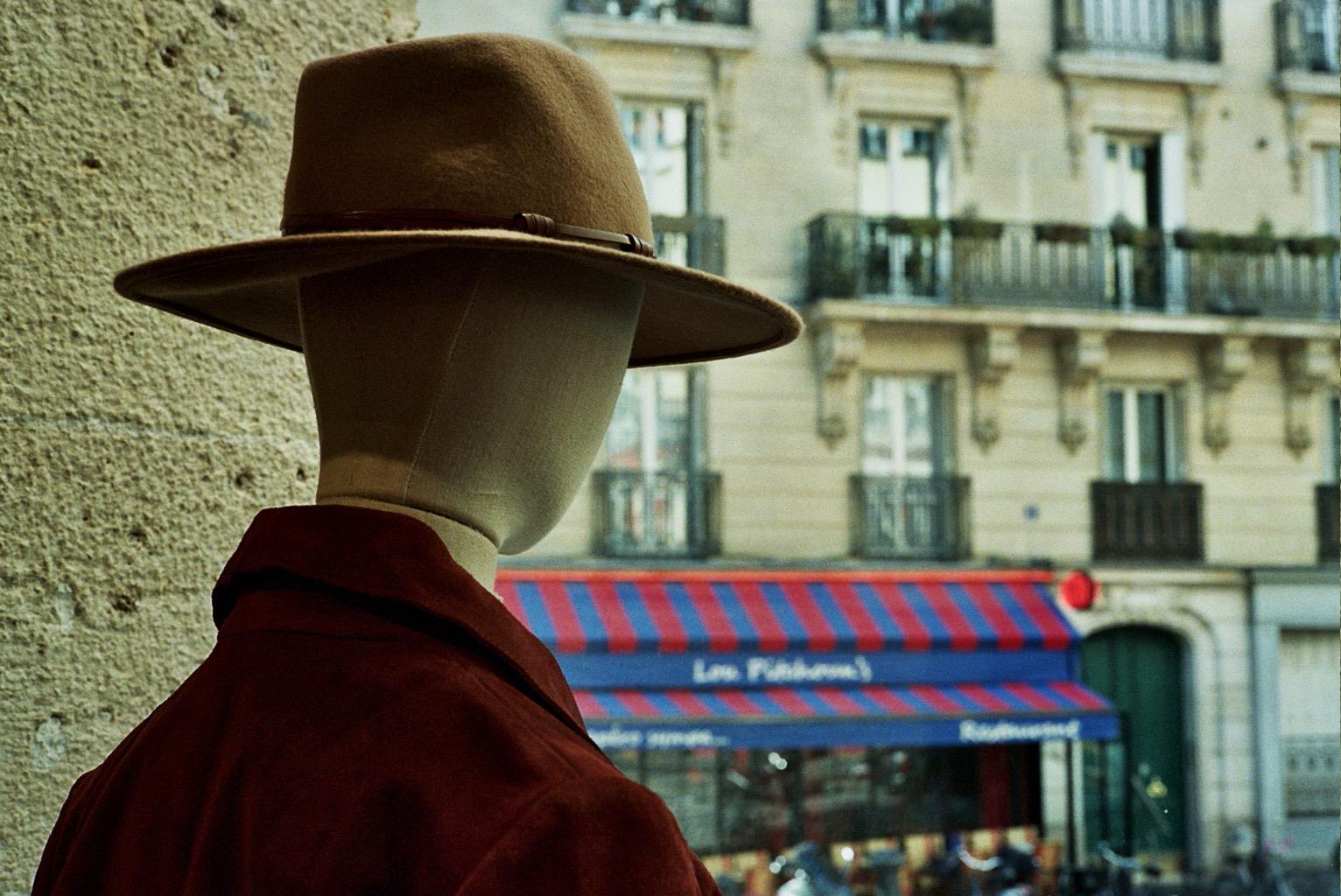 Gentleman looking at the window